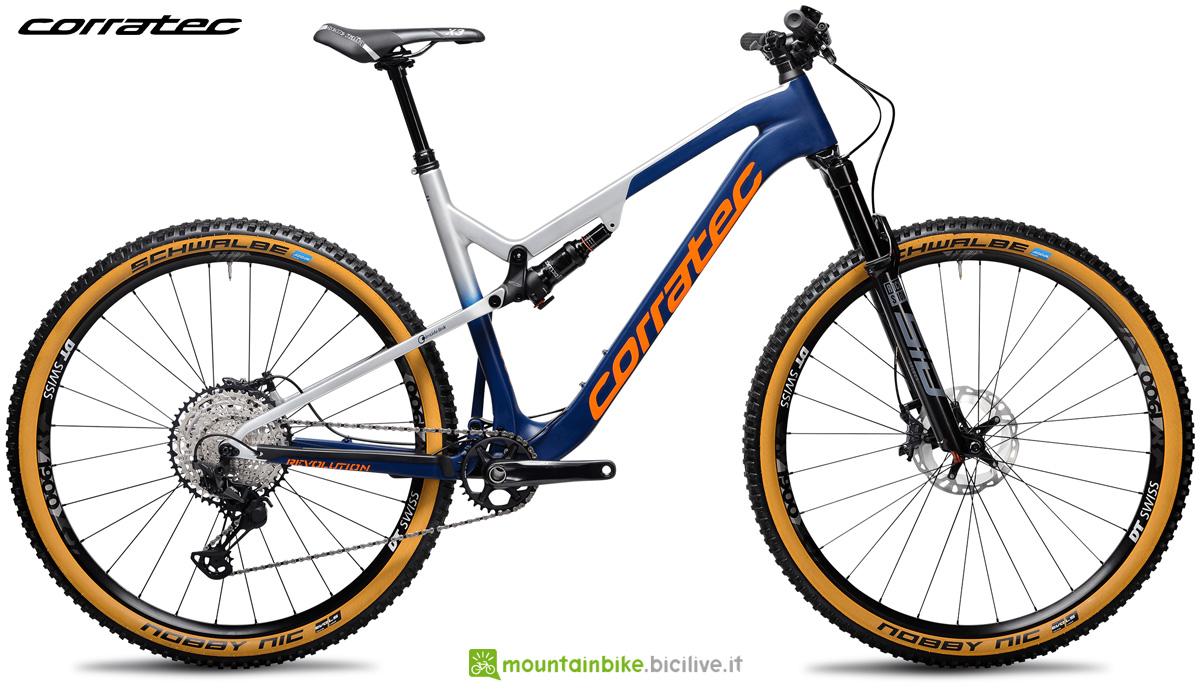 Una mountain bike biammortizzata Revolution iLink Pro 2021