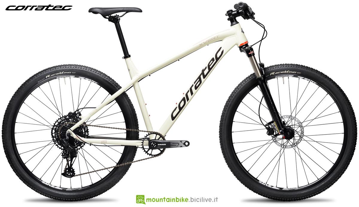 Una mountain bike front suspended Corratec X Vert 29 Elite 2021
