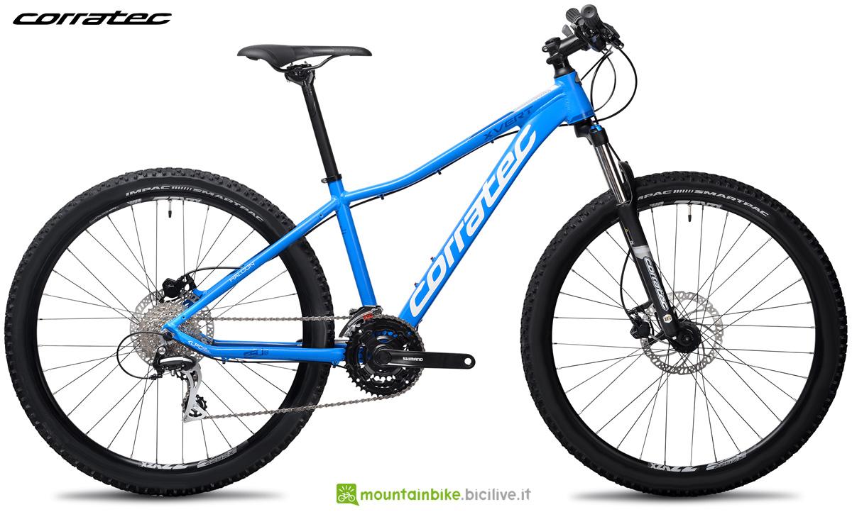 Una bici da offroad X Vert 650B Halcon 2021