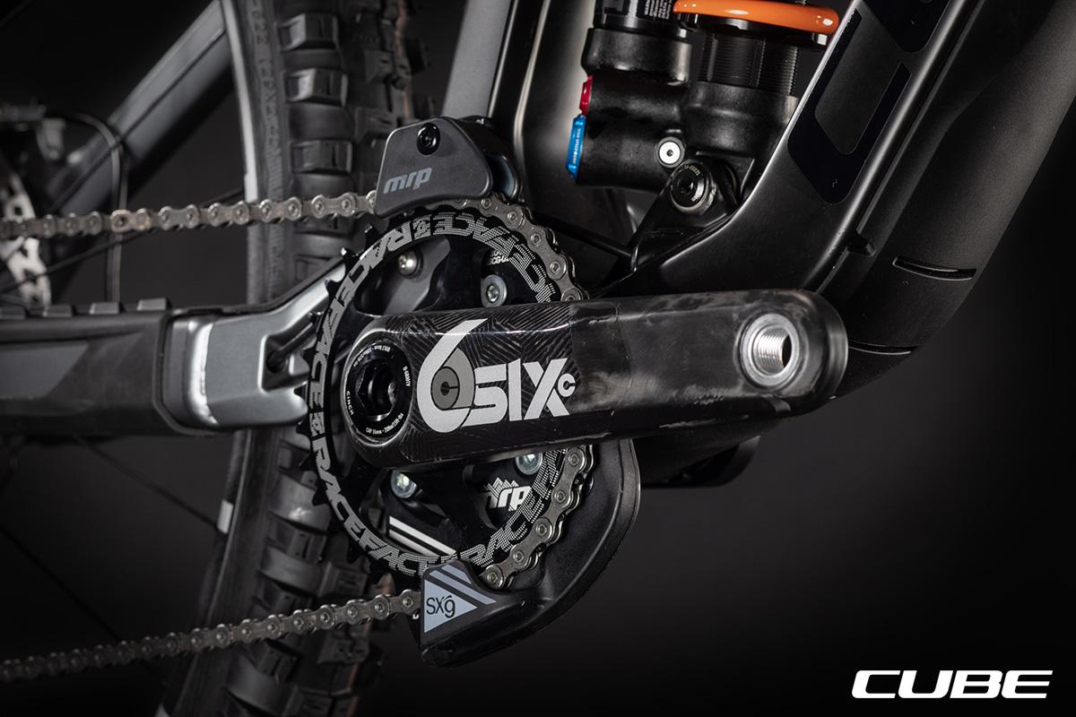 Guarnitura equipaggiata sulla mountain bike Cube TWO15 HPC SLT 2021