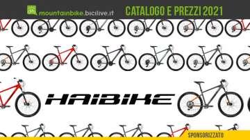Haibike MTB Seet 2021: catalogo e listino prezzi mountain bike