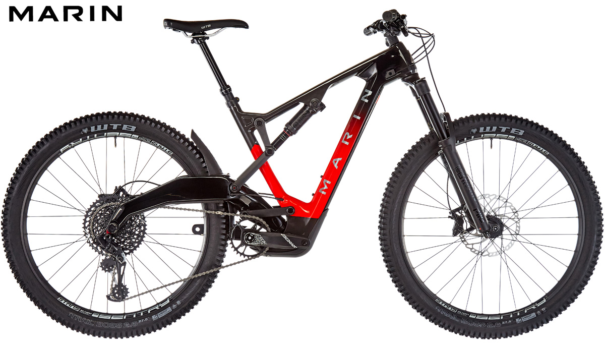 Mountain bike full suspended Marin Mount Vision 8 S 2021