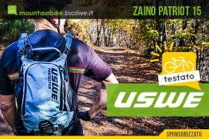 Zaino MTB con paraschiena Uswe Patriot 15