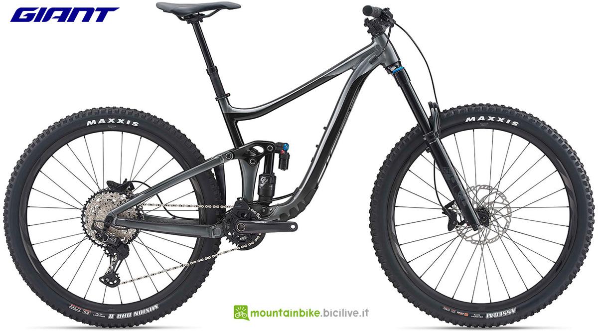 La nuova mountainbike full Giant Reign 29 1 2021