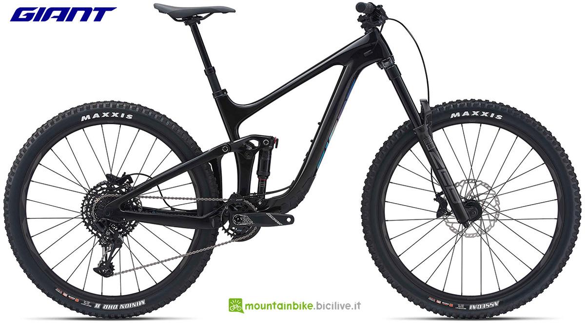 La nuova mountainbike biammortizzata Giant Reign Advanced Pro 29 2 2021