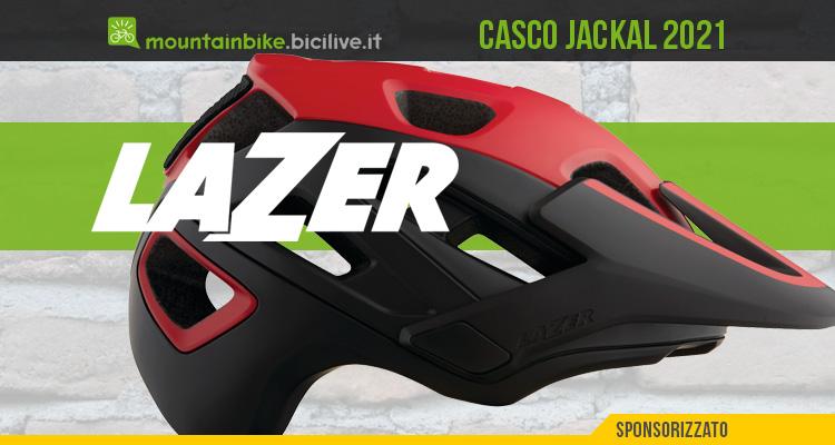 Lazer Jackal 2021: casco aperto per mountain bike
