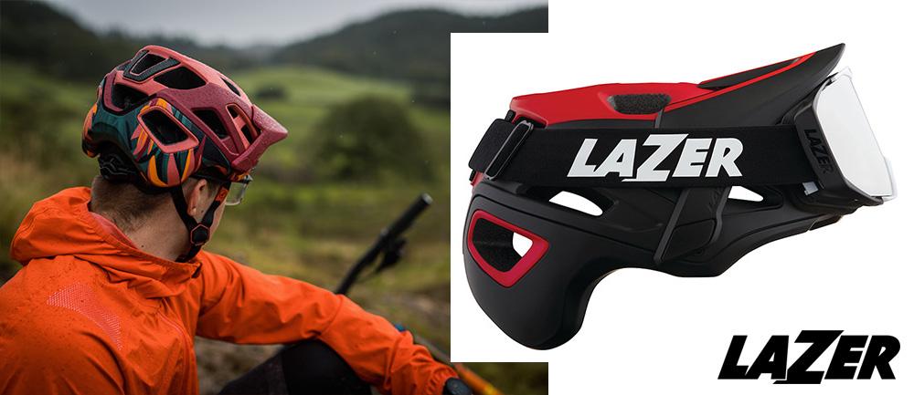 La parte posteriore del casco Lazer Jackal