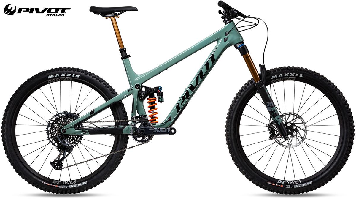 "La nuova mountainbike Pivot Mach 6 Pro X01 Coil 27,5"" 2021"