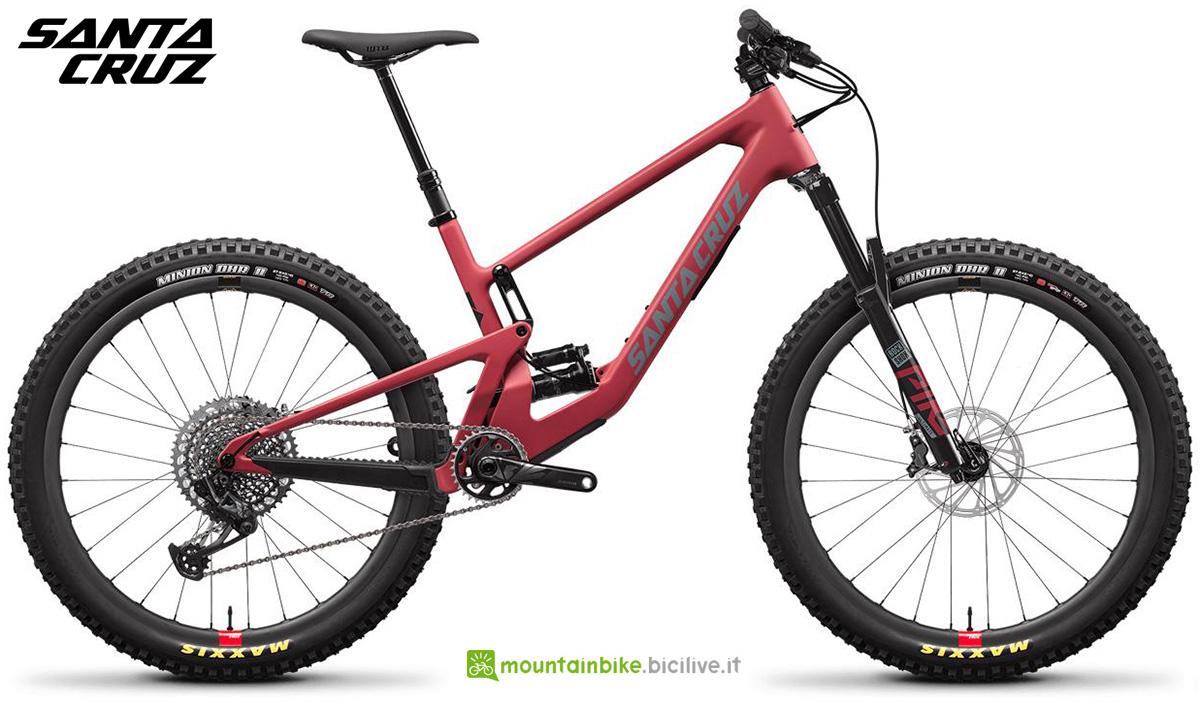 "La nuova mountainbike full Santa Cruz 5010 CC X01 RSV 27"" 2021"