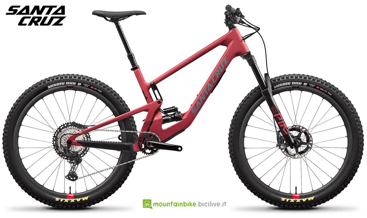 "La nuova mountainbike full Santa Cruz 2010 CXT RSV 27"" 2021"