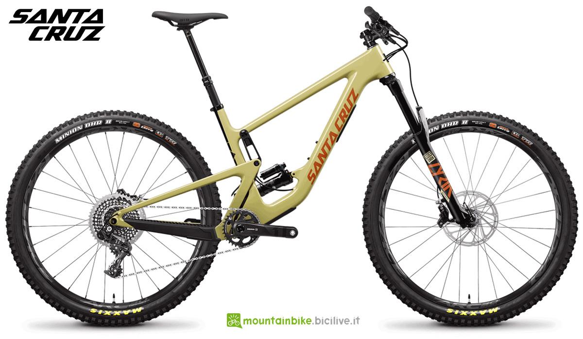 "La nuova mountainbike full Santa Cruz Hightower CC X01 29"" 2021"