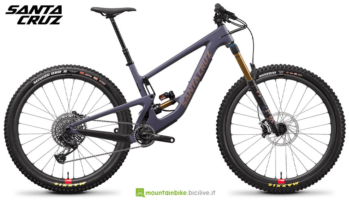 "La nuova mountainbike biammortizzata Santa Cruz Megatower CC X01 RSV 29"" 2021"