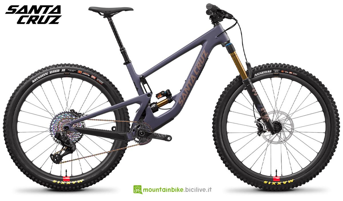 """La nuova mountainbike full Santa Cruz Megatower CC XX1 AXS RSV 29"""" 2021"""