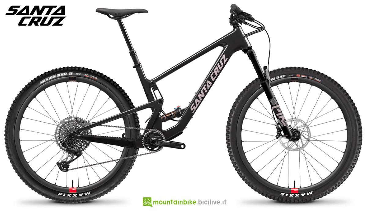 """La nuova mountainbike full Santa Cruz Tallboy  CC X01 RSV 29"""" 2021"""