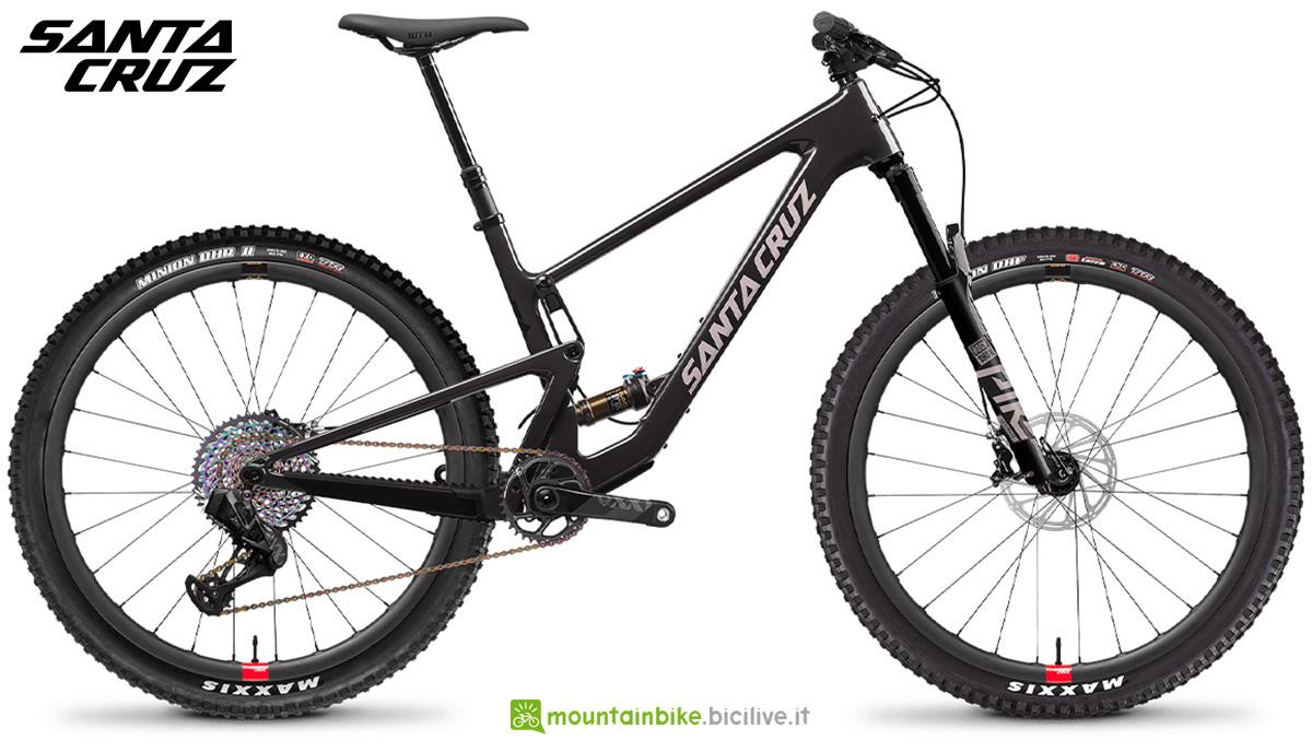 """La nuova mountainbike biammortizzata Santa Cruz Tallboy CC XX1 AXS RSV 29"""" 2021"""