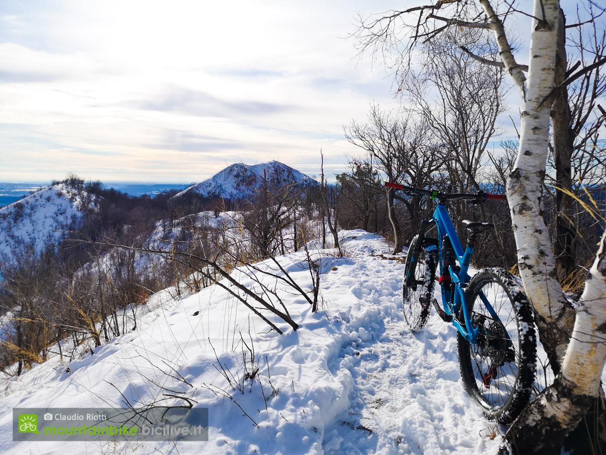 Foto del test del Tannus Armour Tubeless sulla neve