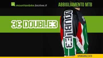 L'abbigliamento per mountainbike Double3 è etico e fatto in Italia