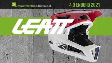 Il nuovo casco per mtb Leatt 4.0 Enduro 2021