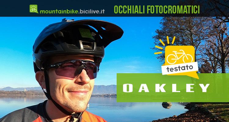 Foto di Claudio Riotti nel test degli occhiali da bici Oakley Radar EV Pitch fotocromatici
