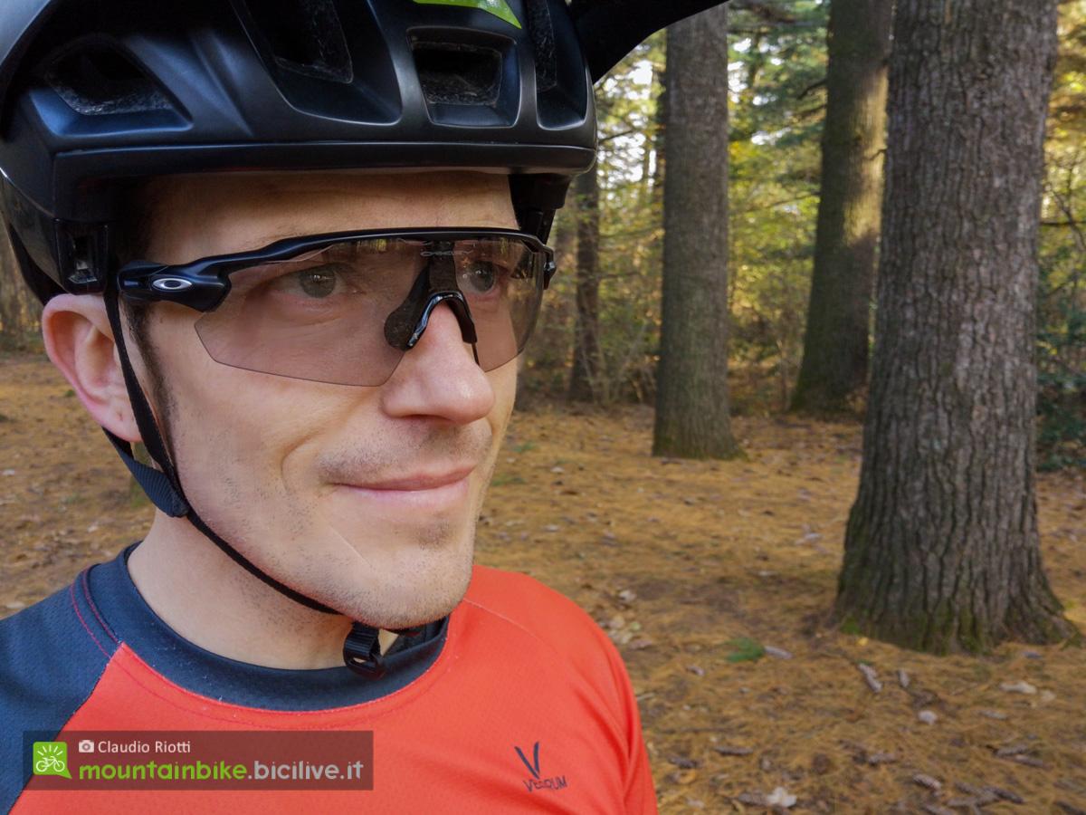Foto degli occhiali da MTB Oakley radar Ev Pitch