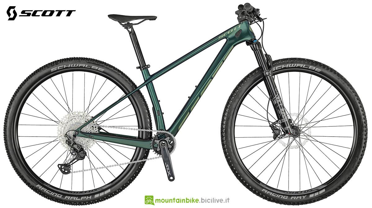 La nuova mountainbike hardtail Scott Contessa Scale 910 2021