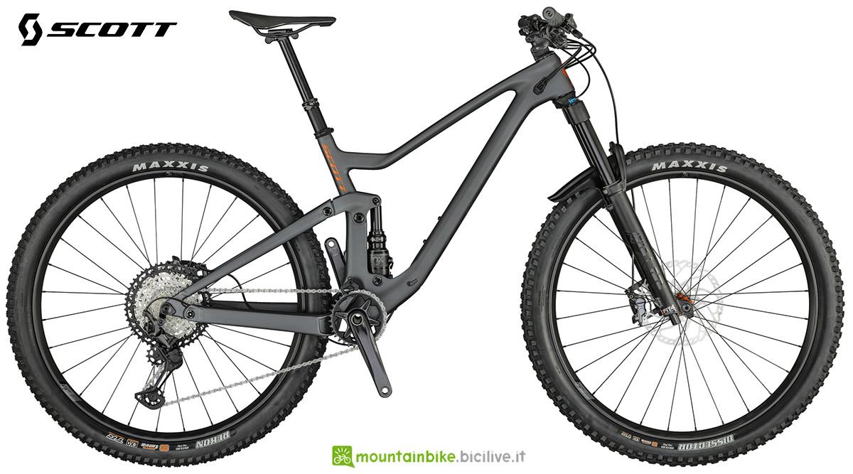 La nuova mountainbike biammortizzata Scott Genius 920 2021