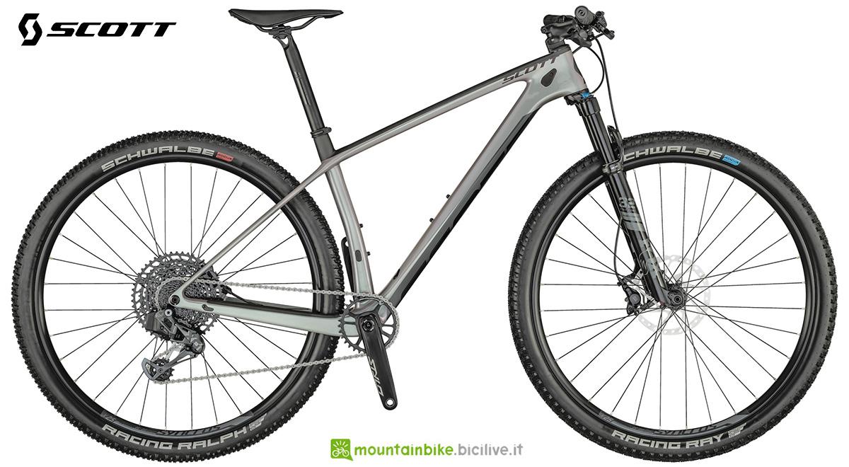 La nuova mountainbike hardtail Scott Scale 910 AXS 2021