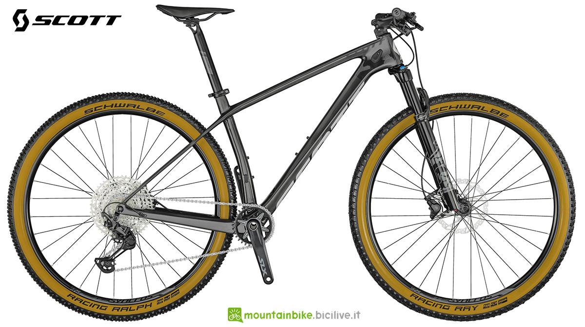 La nuova mountainbike hardtail Scott Scale 925 2021