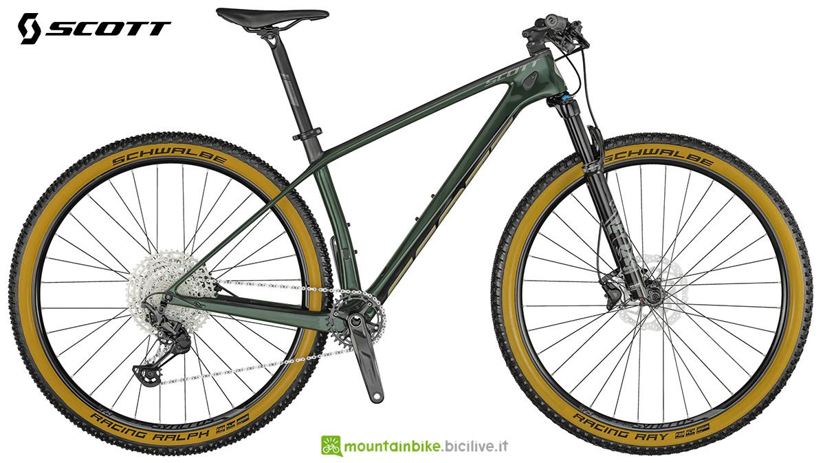 La nuova mtb front Scott Scale 930 Wakame Green 2021