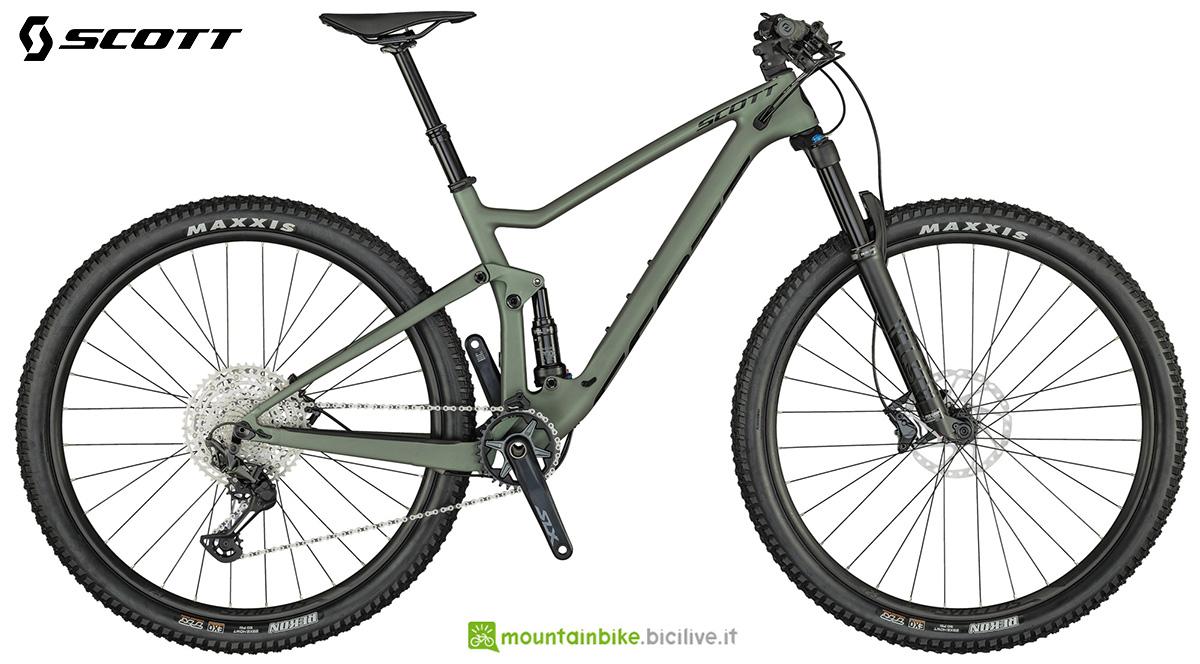 La nuova mountainbike biammortizzata Scott Spark 930 2021