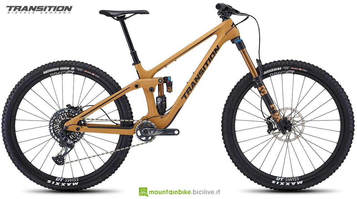 La nuova mountainbike full Transition Sentinel 2021
