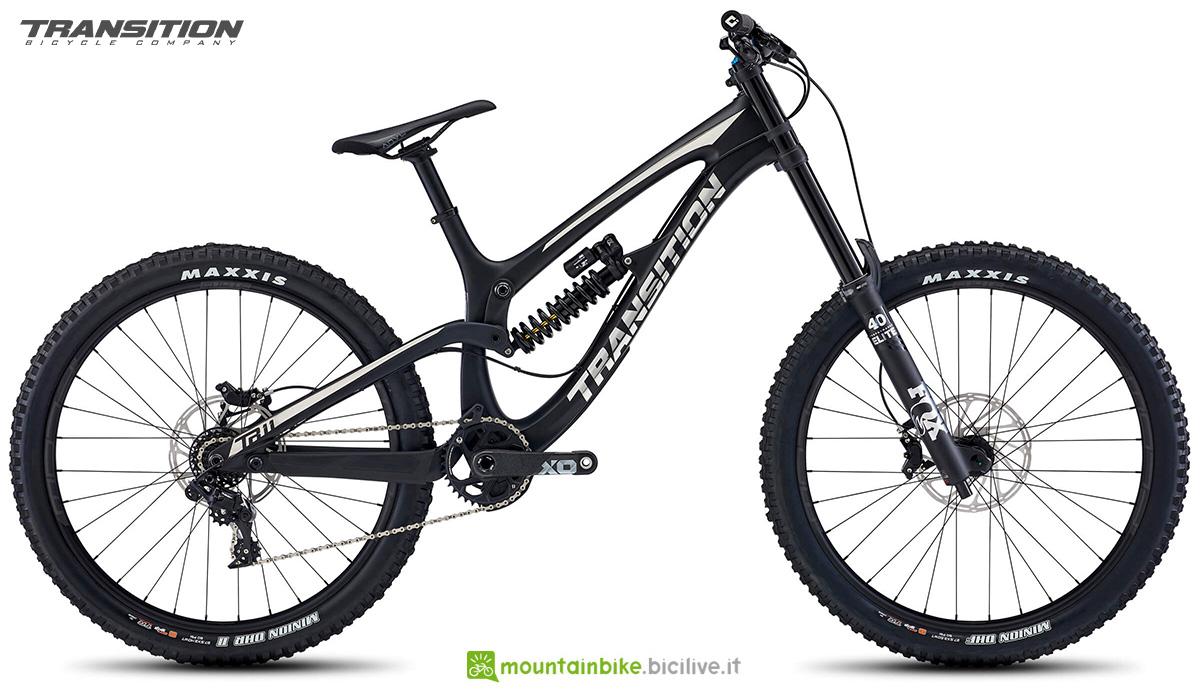 La nuova mountainbike biammortizzata Transition Bikes TR11 2021