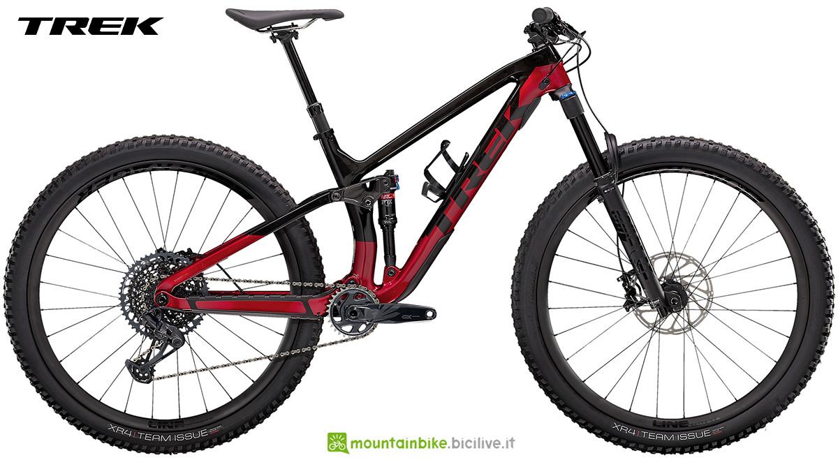 La nuova mountainbike full Trek Fuel EX 9.8 GX 2021