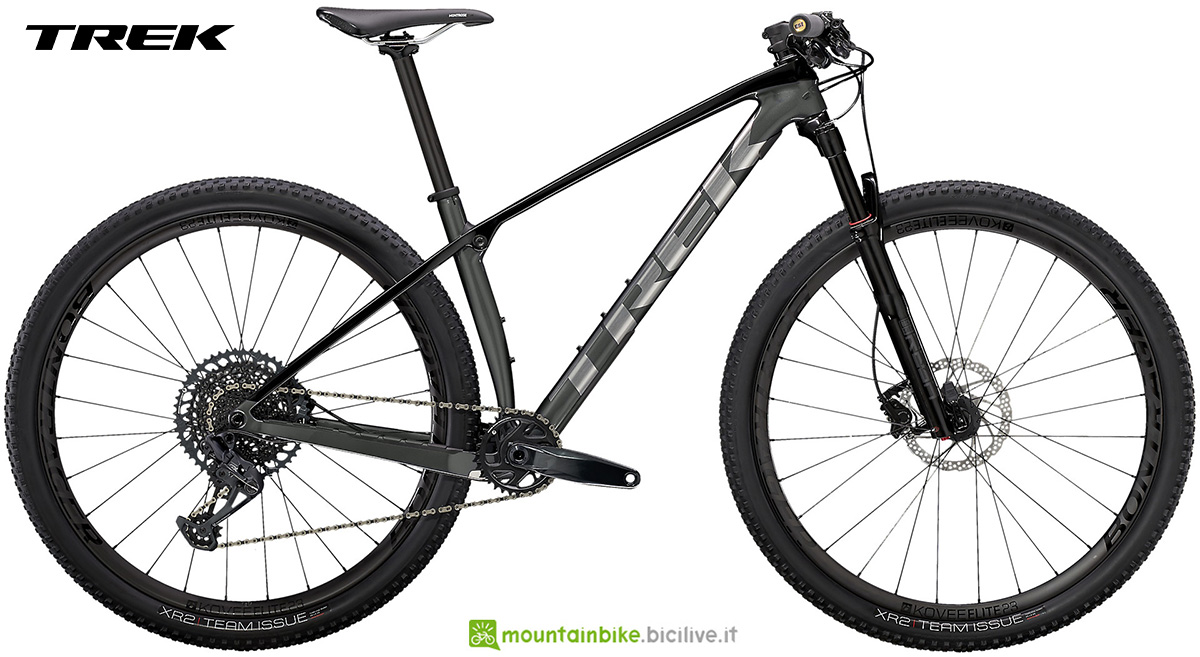 La nuova mountainbike hardtail Trek Procaliber 9.7 2021