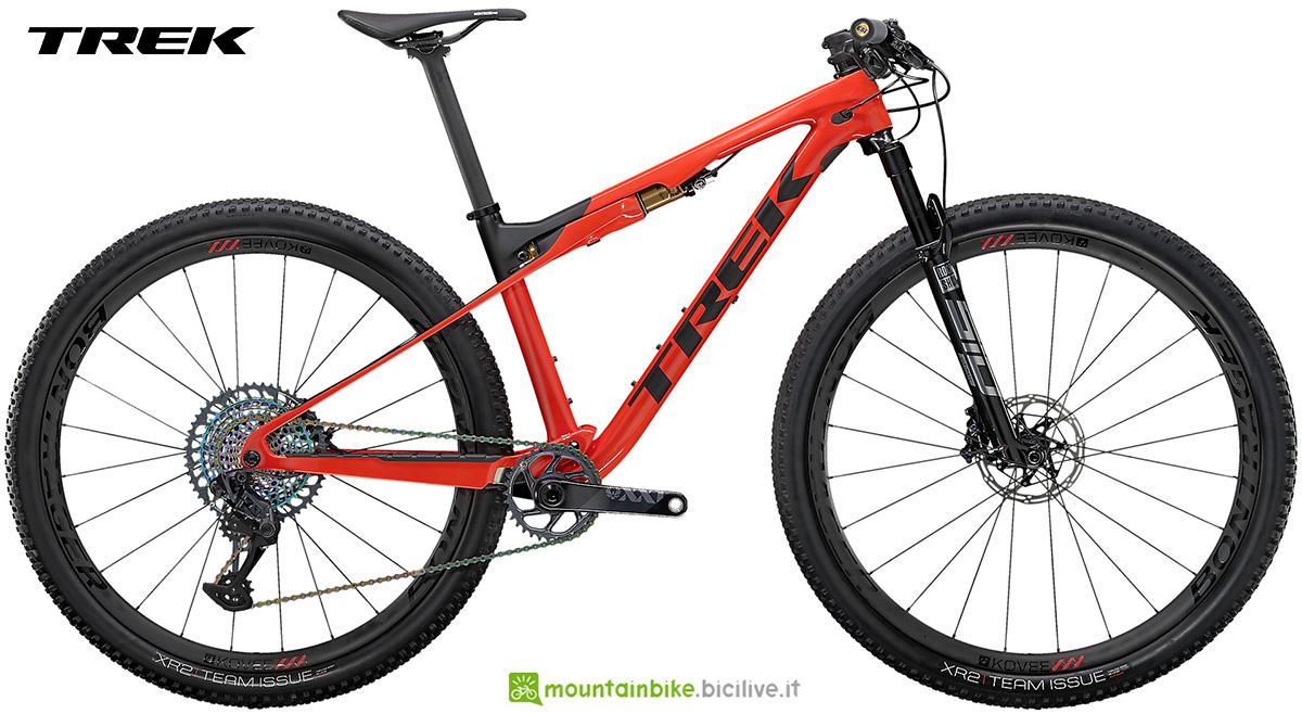 La nuova mountainbike hardtail Trek Supercaliber 9.9 XX1 2021