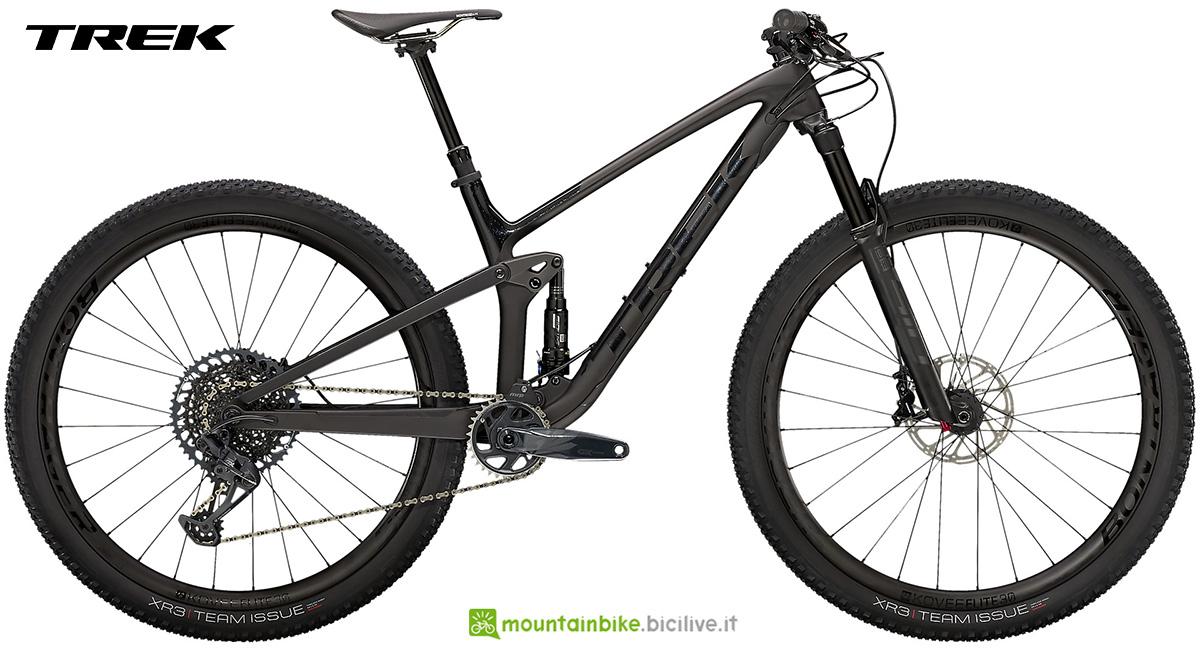 La nuova mountainbike full Trek Top Fuel 9.8 GX 2021