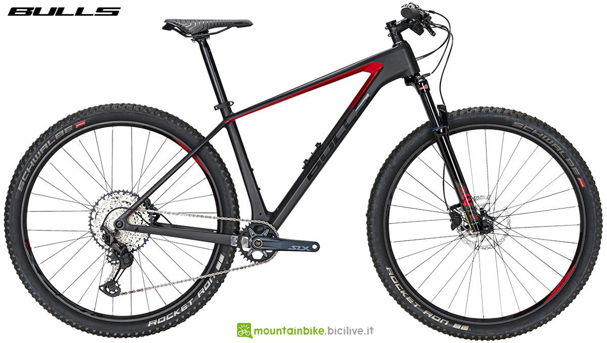 La nuova mountainbike front suspended Bulls Copperhead Bushmaster 2021