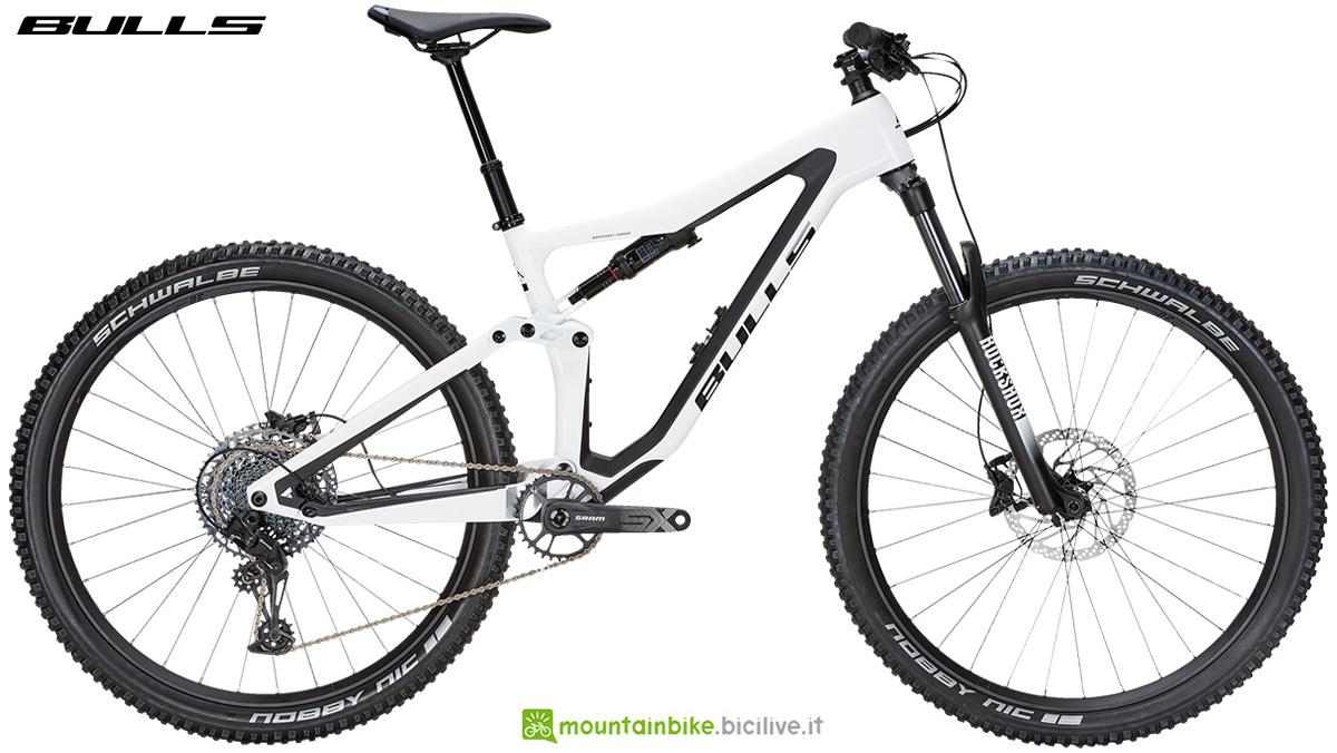 La nuova mountainbike biammortizzata Bulls Wild Ronin 1 2021