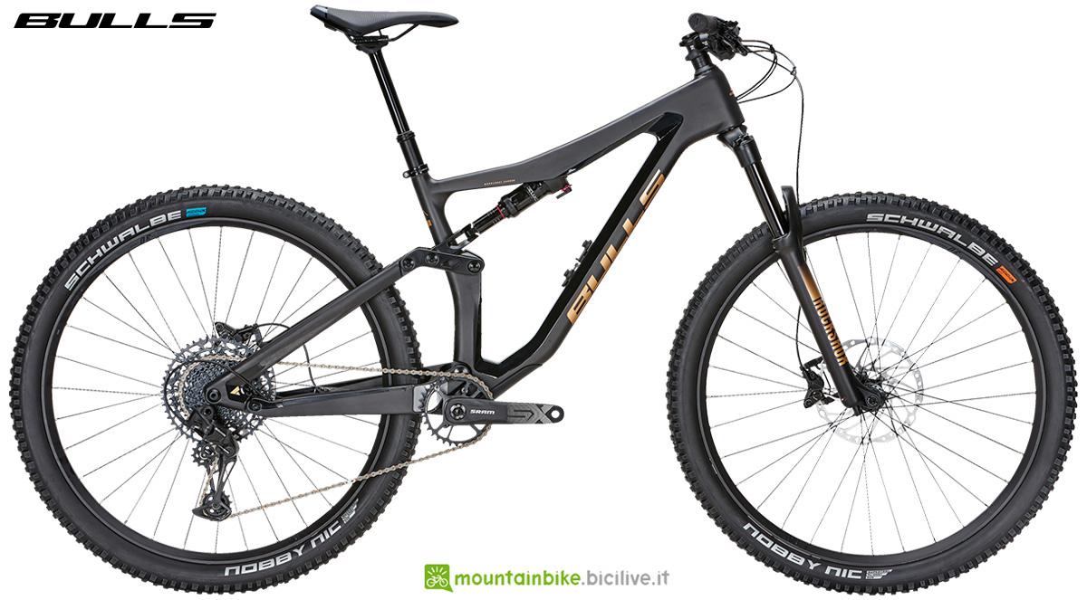 La nuova mountainbike full suspended Bulls Wild Ronin 2 2021