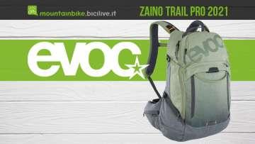 Il nuovo zaino per bici Evoc Trail Pro 2021