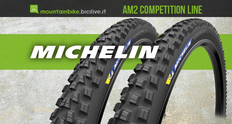 I nuovi copertoni per mtb Michelin Am2 Competition Line 2021