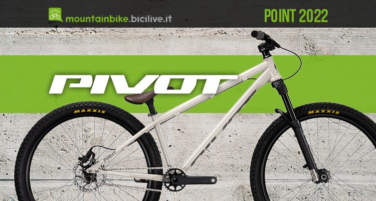 La nuova bici da dire jump Pivot Cycles Point 2022