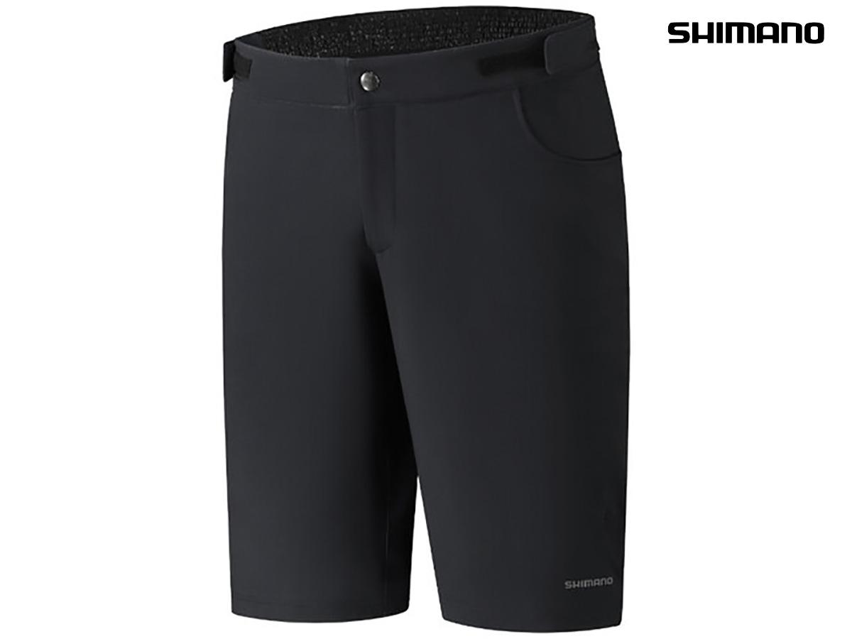 I pantaloncini Shimano Fukui in colorazione nera