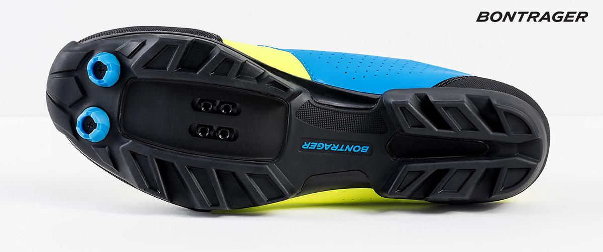 La suola della nuova scarpa per mtb Bontrager Foray 2021