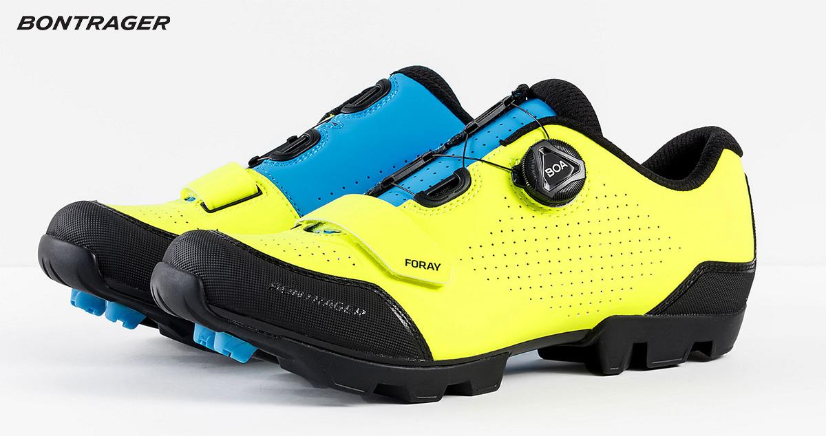 Le nuove scarpe per mountainbike Bontrager Foray 2021