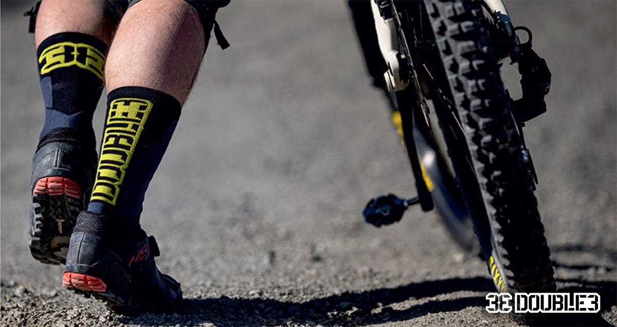 Le calze tecniche per ciclisti e rider mtb di Double3