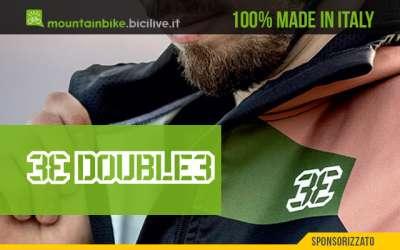 La biografia dell'azienda italiana di abbigliamento tecnico mtb Double3
