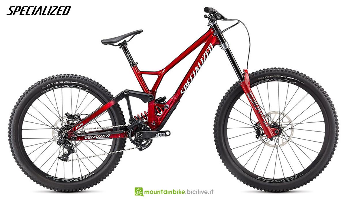 La nuova mountainbike Specialized Demo Race 2021