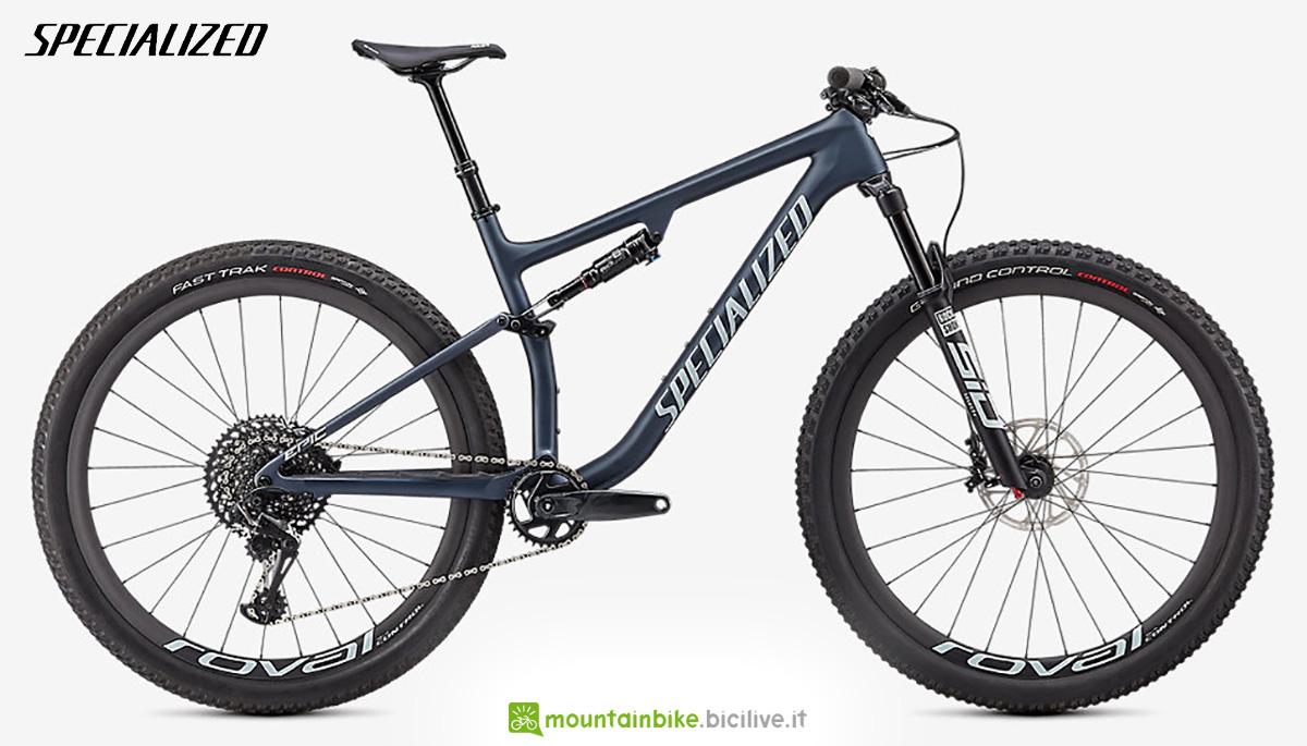 La nuova mountainbike biammortizzata Specialized Epic Evo Expert 2021