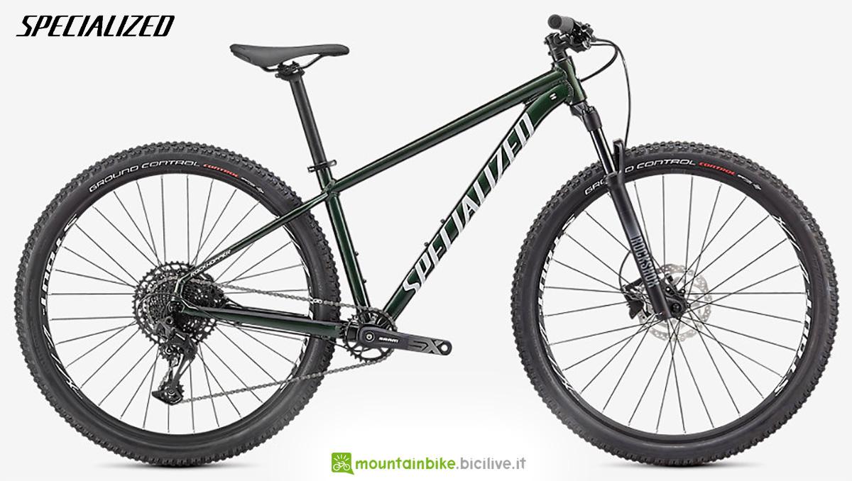 """La nuova mountainbike front Specialized Rockhopper Expert 29"""" 2021"""